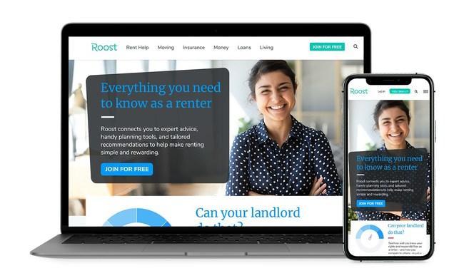 新的和当前的租户在Roost在线社区找到指导