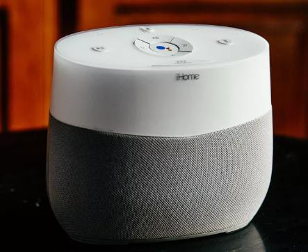 配备Google助手的iHomeiGV1智能扬声器