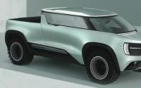 福特野马顶空渲染想象模型的未来EV视觉识别