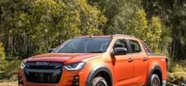 五十铃DMax在车型排行榜上排名第四品牌进入前10名